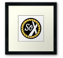 SoX - Chance The Rapper & The Social Experiment LARGE LOGO Framed Print