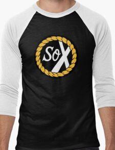 SoX - Chance The Rapper & The Social Experiment LARGE LOGO Men's Baseball ¾ T-Shirt