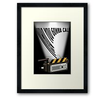 Who you gonna call Framed Print