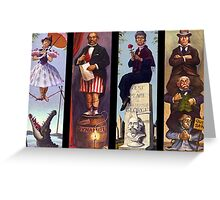 All haunted mansion Greeting Card
