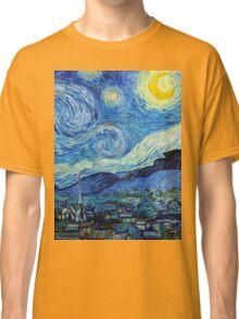 1889-Vincent van Gogh-The Starry Night-73x92 Classic T-Shirt
