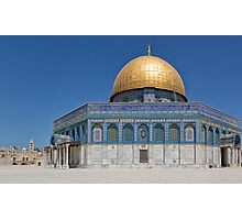 Dome of the Rock Photographic Print