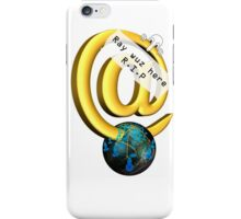Ray Tomlinson Salute iPhone Case/Skin