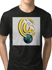 Ray Tomlinson Salute Tri-blend T-Shirt