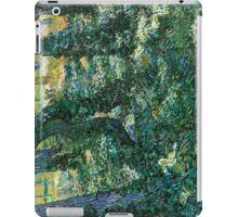 1889-Vincent van Gogh-Undergrowth-73x92,5 iPad Case/Skin
