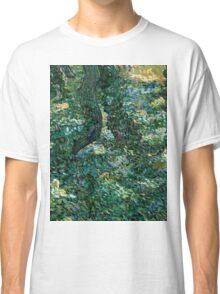 1889-Vincent van Gogh-Undergrowth-73x92,5 Classic T-Shirt
