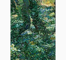 1889-Vincent van Gogh-Undergrowth-73x92,5 Unisex T-Shirt