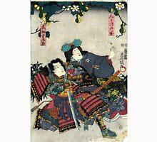 Kunisada Utagawa - Miaso Gozen - Circa 1860 - Woodcut Unisex T-Shirt
