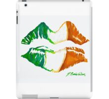 Kiss Me, I'm Irish iPad Case/Skin