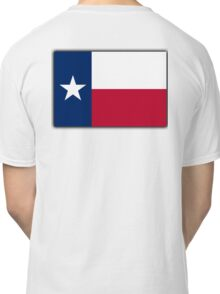 TEXAS, Lone Star, Texas Flag, Flag of the State of Texas, USA, America, American Classic T-Shirt