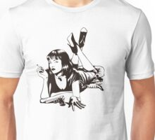 Pulp Movie Illustration Unisex T-Shirt