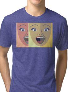 FACES #4 Tri-blend T-Shirt