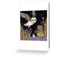 Mrs White Greeting Card