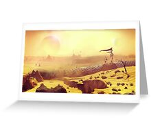 No Worm's Sky Greeting Card