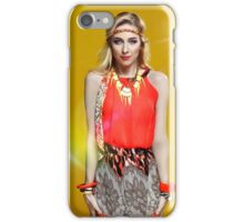 Bright Lights Ans Blonde Hair iPhone Case/Skin