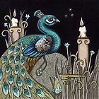 Mrs Peacock by Anita Inverarity