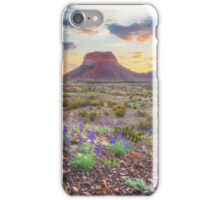 Sunrise at the Big Bend 5 iPhone Case/Skin