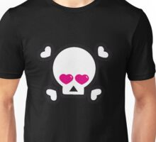 skull heart British @ Heart Heart Pirates My Heart Will Go on  Unisex T-Shirt