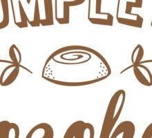 Complete chocoholic Sticker