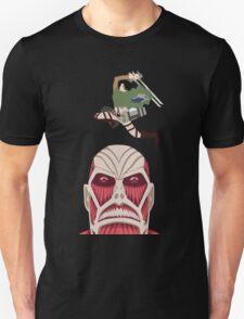 Levi Killing the Colossal Titan T-Shirt