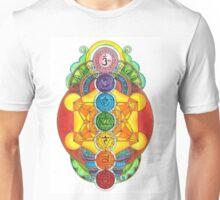 Rainbow Chakra! Unisex T-Shirt