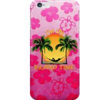 Island Time Pink Honu iPhone Case/Skin