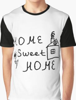 Home sweet home sketch Graphic T-Shirt