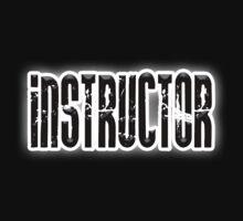 INSTRUCTOR, Coach, Teacher, Trainer, on Black Kids Tee