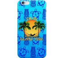 Island Time Tiki iPhone Case/Skin