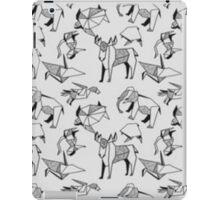 Origami Animals iPad Case/Skin