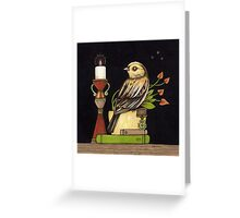 Colonel Mustard Greeting Card