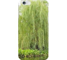Weeping Willow by the Pond  iPhone Case/Skin
