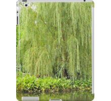 Weeping Willow by the Pond  iPad Case/Skin