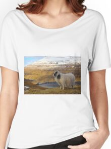 Wildlife in wintertime  Women's Relaxed Fit T-Shirt