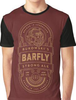 Charles Bukowski Brew Graphic T-Shirt