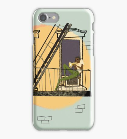 Jazzy Sunrise iPhone Case/Skin