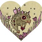 Valentine Dragon by Anita Inverarity