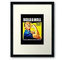Build a Wall Framed Print