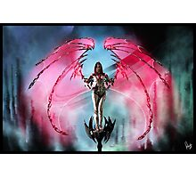 Robot Angel Painting 018 Photographic Print