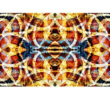Abstract grunge graffiti pattern Photographic Print