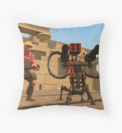Team Fortress 2 Engineer Throw Pillow