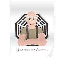 Lost - John Locke Poster