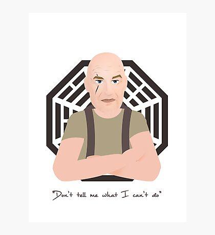 Lost - John Locke Photographic Print