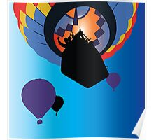 Hot Air Ballooning Poster