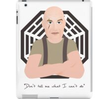 Lost - John Locke iPad Case/Skin