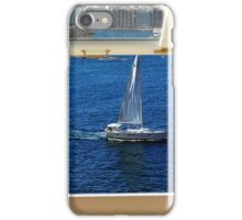 Nautical theme seen from a window frame. Malta. iPhone Case/Skin