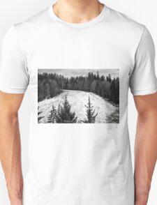 Dark winter landscape. T-Shirt