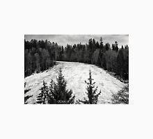 Dark winter landscape. Unisex T-Shirt