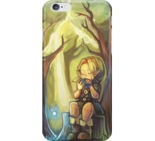 Lost Woods Symphony (Legend of Zelda: Ocarina of Time) iPhone Case/Skin
