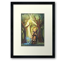 Lost Woods Symphony (Legend of Zelda: Ocarina of Time) Framed Print